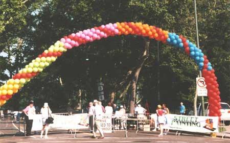 Chalk on the Walk 2001 - Banner Entrance