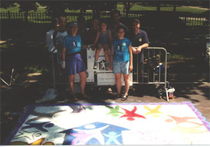 Chalk on the Walk 2001 - Group