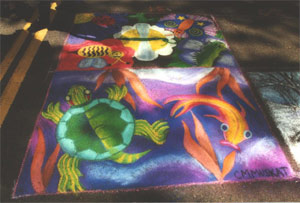 Chalk on the Walk 2001 - Sea Creatures