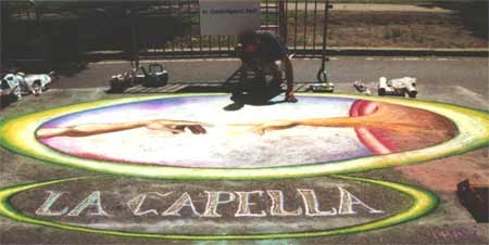 Chalk on the Walk 2001 - LaCapella